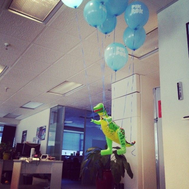 Our QA Testing team has established that dinosaurs can fly!