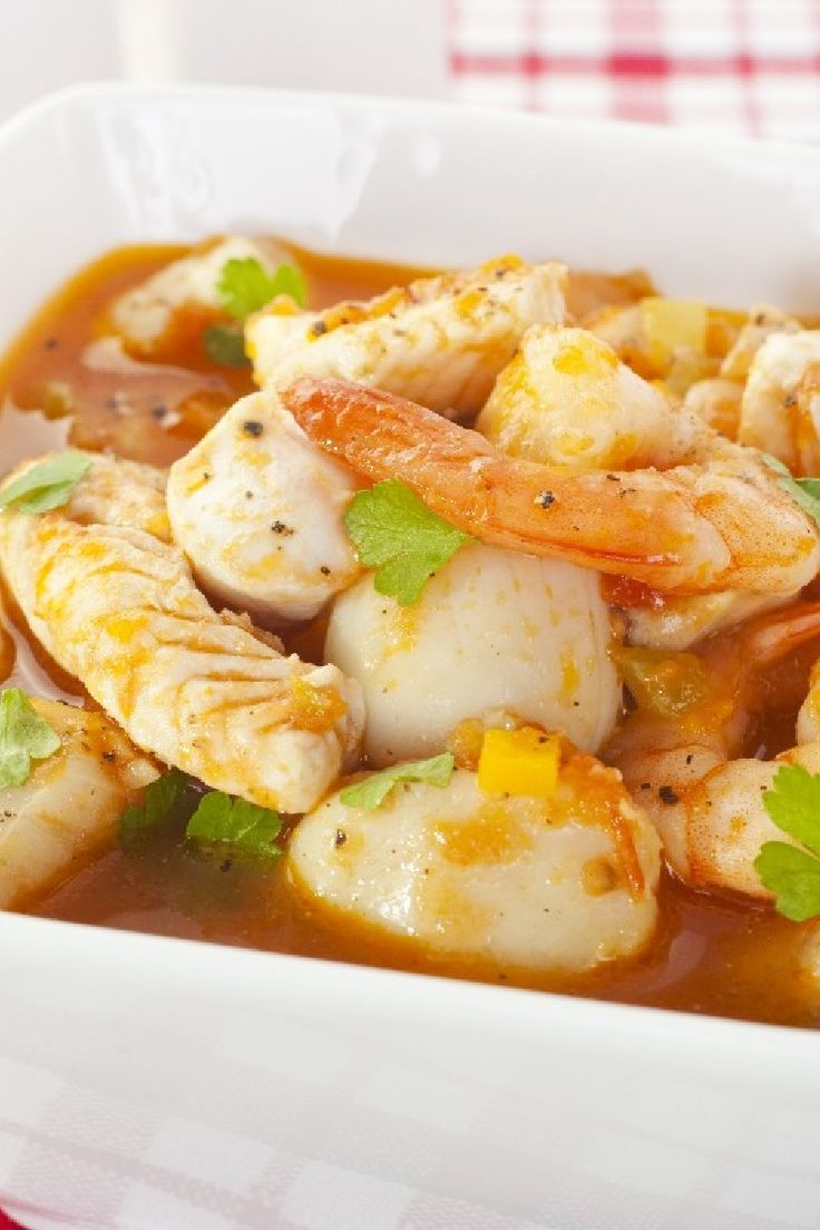 Venetian Shrimp and Scallops