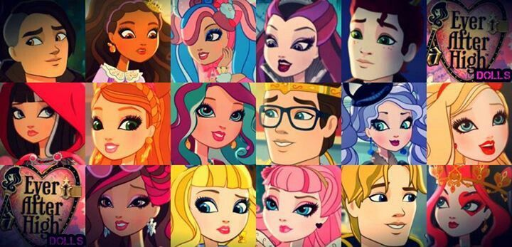 Ever After High Cast | Ever After High Cast