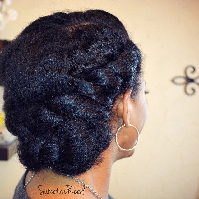 cute twists on natural hair