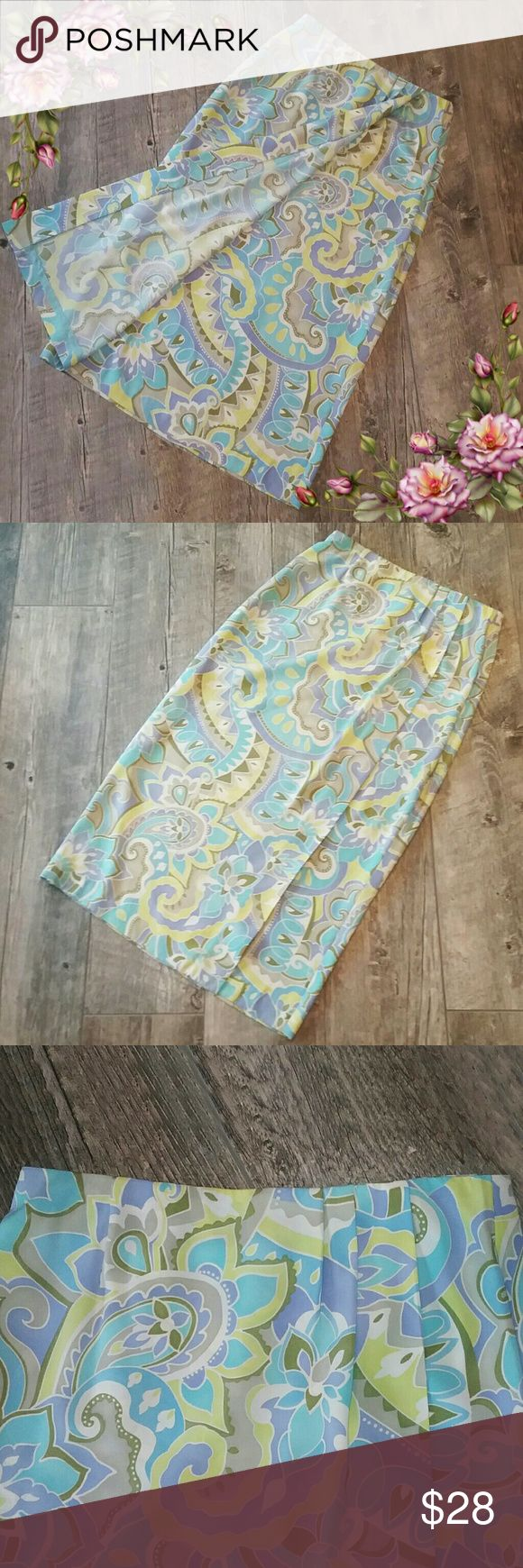 Gorgeous print maxi skirt. Offers are welcome In excellent condition.  Zipper works perfect. Judith Hart collection  Skirts Maxi