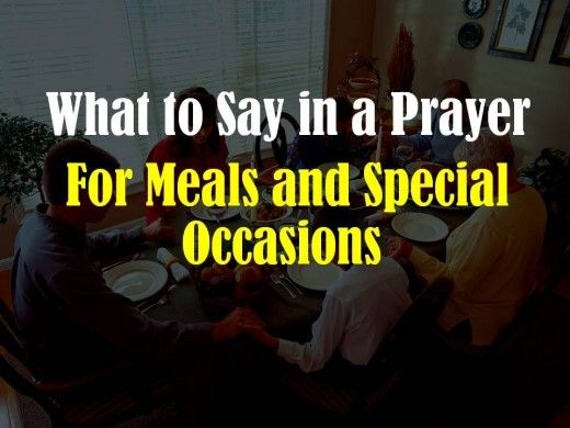 Examples of public prayers