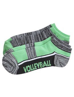 2 Pack Volleyball Ankle Socks