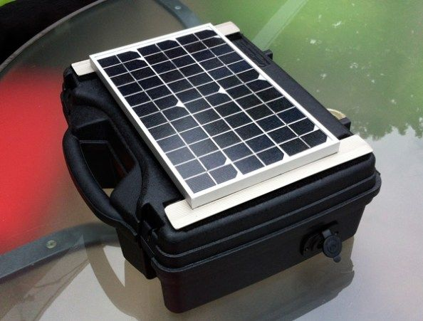 Build Your Own PORTABLE Solar Generator Want to build your own portable solar power generator to take with you on camping trips or for use in an emergency? I'll show you how below, it's easier than you...