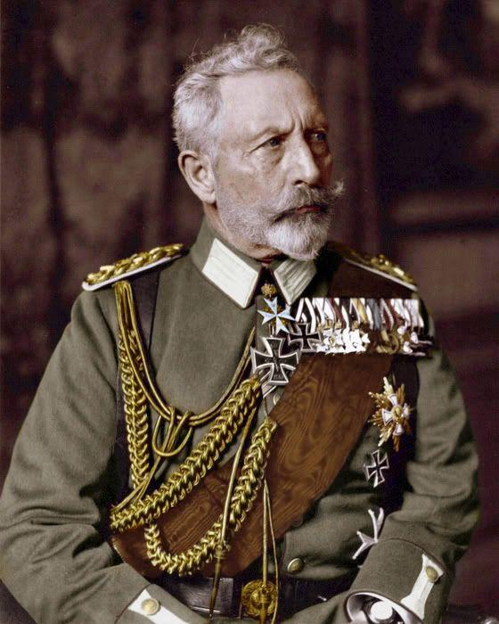 Wilhelm II (Friedrich Wilhelm Viktor Albrecht von Preußen); 27 January 1859 – 4 June 1941; last German Emperor (Kaiser) and King of Prussia.