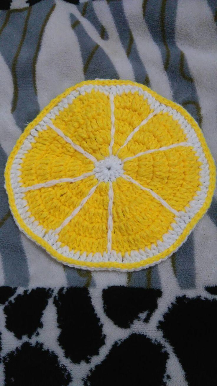 Limón a crochet