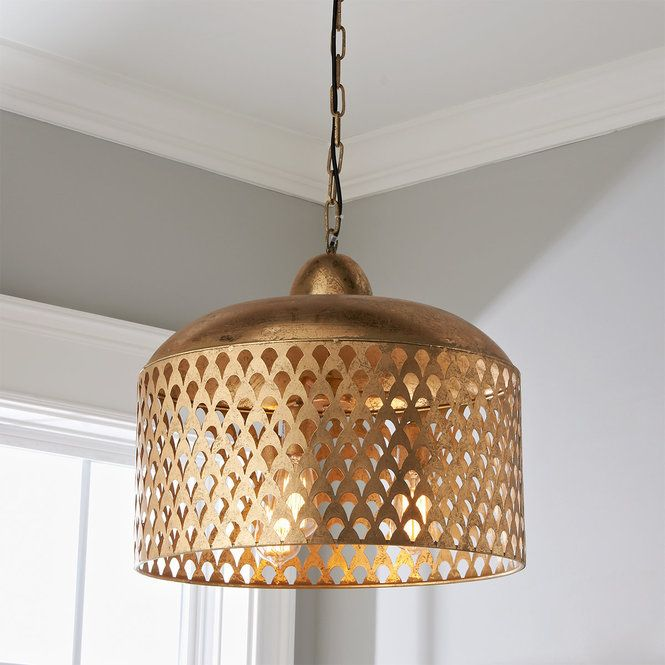 Fan Screen Metal Pendant Contemporary Pendant Lights Large