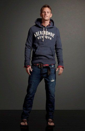 Abercrombie and Fitch.  Mens Classic Look.