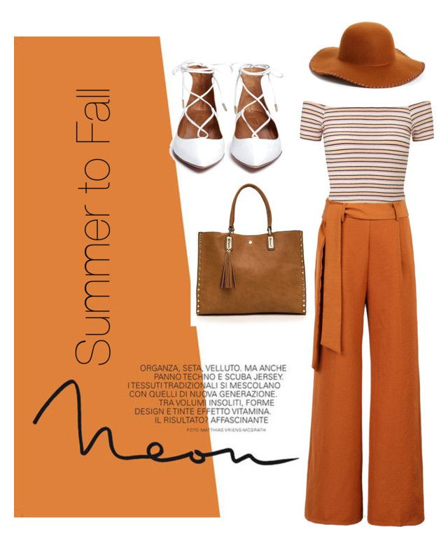 """""""Summer to Fall outfit"""" by chrysapan on Polyvore featuring WithChic, Phase 3 and Miss Selfridge"""
