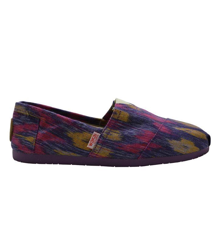 WAKAi Shoes (Japan) - Kara | made from tenun ikat Indonesia