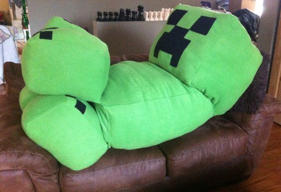 Life Size Full Body 65 Quot Custom Minecraft Creeper Plush