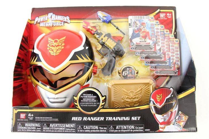 New Power Rangers Megaforce - Red Ranger Training Set - Boys Pretend Toy