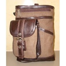 Hanpu Koubou Brown Cross Body Bag $24.95 - A smart, compact bag that's perfect for guys on the go #hanpukoubou #mensbags #crossbodybag