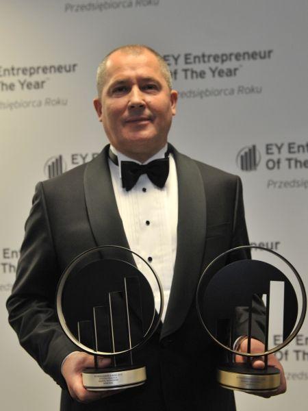 Andrzej Wiśniowski - zwycięzca 11. polskiej edycji konkursu EY Przedsiębiorca Roku. EY Entrepreneur Of The Year 2013 Poland