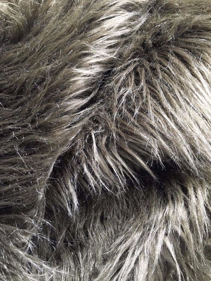 BROWN SHAGGY FAUX FAKE FUR Fabric (60 in.) Sold By The Yard #EBADFABRICS