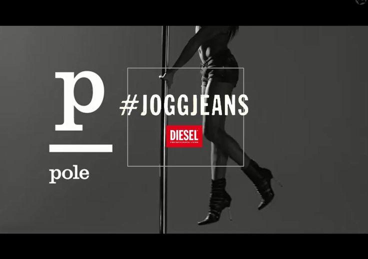 La marque Diesel lance une belle campagne chorégraphique pour montrer la flexibilité de ses jeans