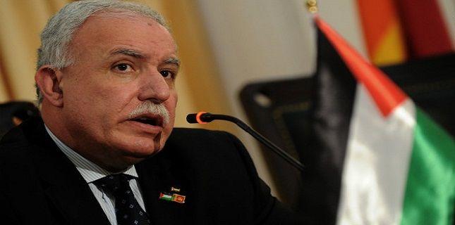 Palestine freezes all meetings with US: FM Riyad al-Maliki