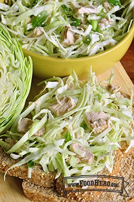 67 best healthy tasty salads food hero recipes images on tuna cabbage salad fast and easy to make recipe few ingredients kids will forumfinder Gallery