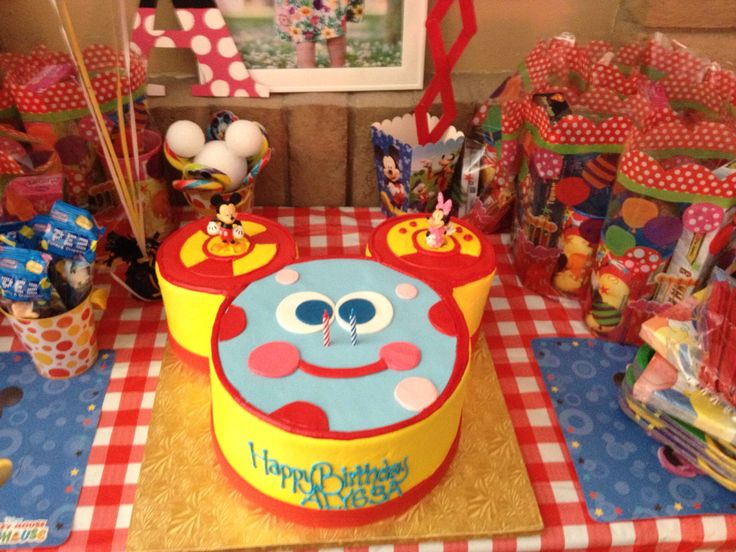 Oh Toodles Cake Alyssa S 2nd Birthday Mickey Mouse