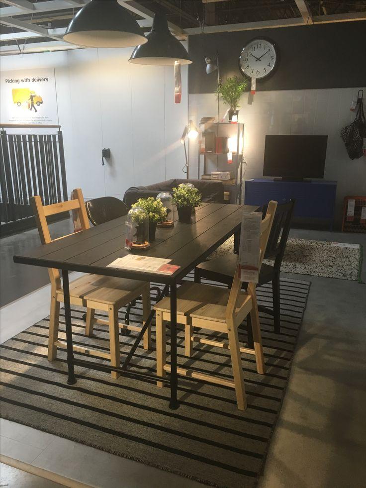 Narrow dining room table ikea
