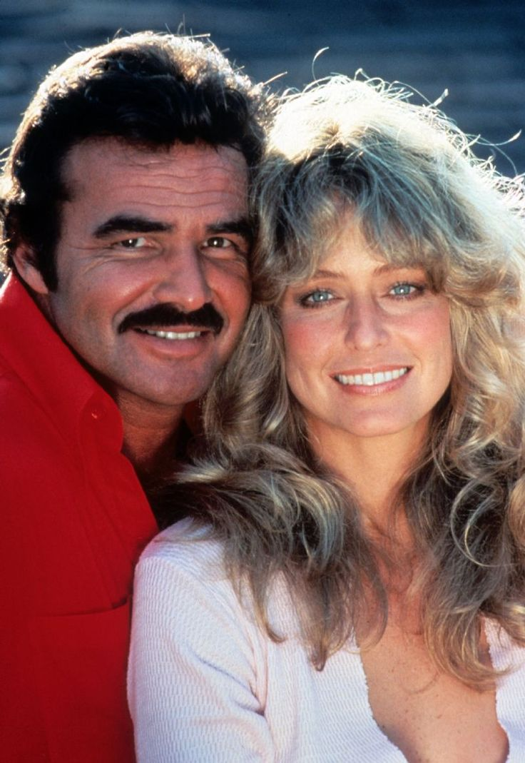 CANNONBALL RUN - Burt Reynolds & Farrah Fawcett - Publicity Still.