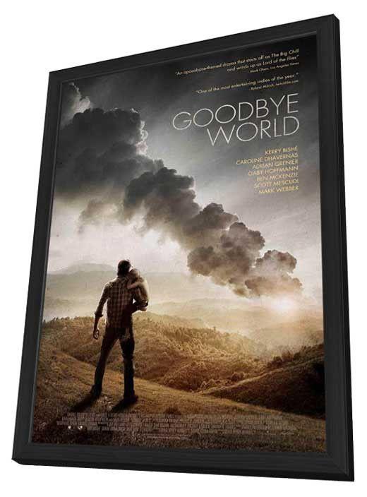 Goodbye World 11x17 Framed Movie Poster (2014)