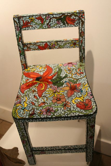 """Chair of Flowers"" by Wendy Tanner, via Flickr"