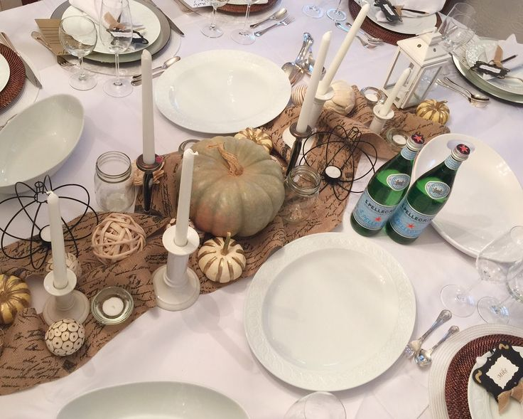 Thanksgiving Tablescape With A Little Help From @michaelsstores | Home With  Keki / Interior Design