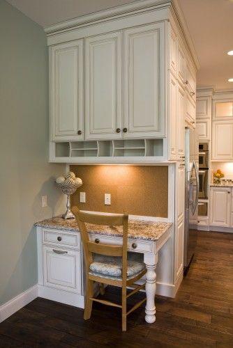10 Best Images About Kitchen Desks On Pinterest Built In