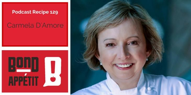 129. Sicilian food, business ideas and being a Key Person of Influence with Carmela D'Amore