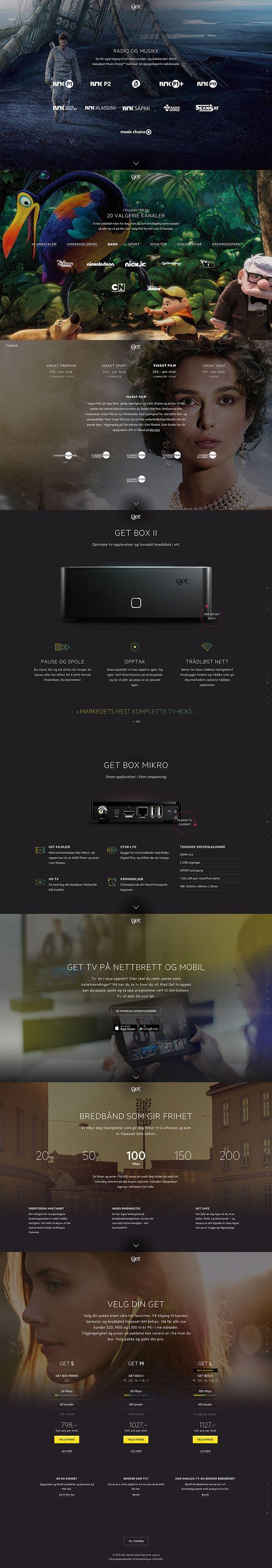 GET website on Behance