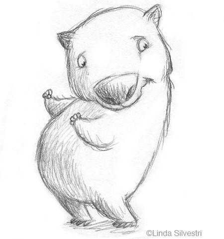 wombat by Linda Silvestri