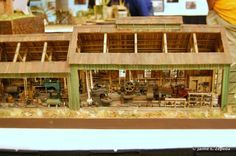 MODEL RAILROAD ENGINE HOUSE IMAGES | Model Railroad Forums • View topic - 2010 National Narrow Gauge ...