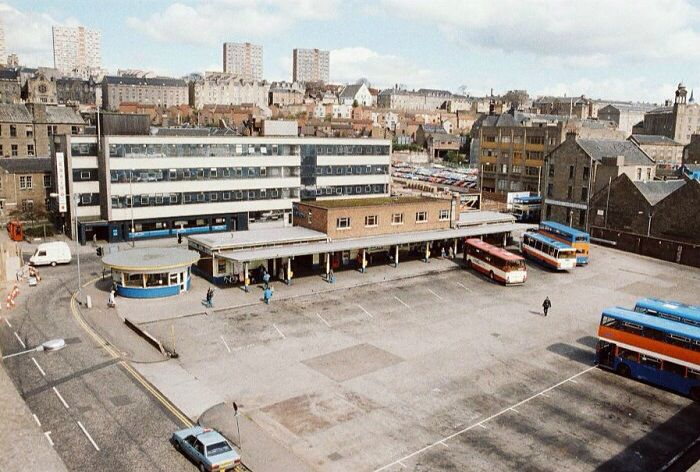 Dundee Bus Station.