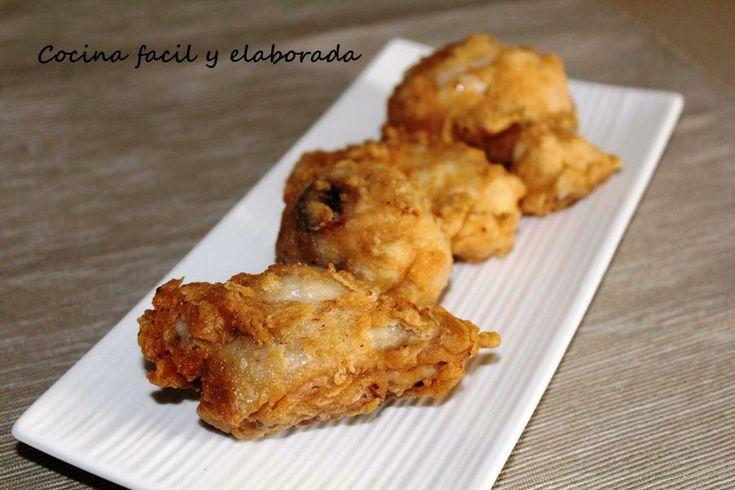 Prepara el pollo frito al estilo norteamericano.