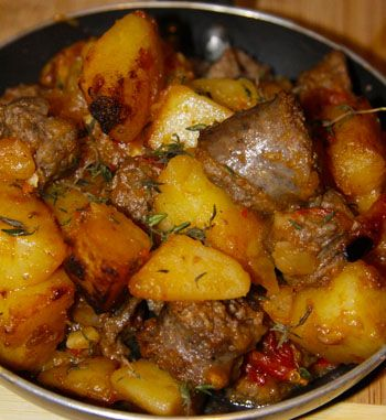 South African Patatas Bravas with Boerewors  -  Gourmet Guys - Tags | Portuguese