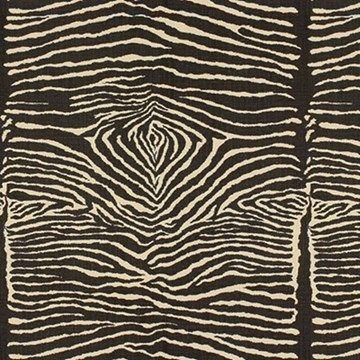 Engelska Tapetmagasinet - tyger - linnetyg - zebratyg - Brunschwig and Fils Le Zebre - zebra