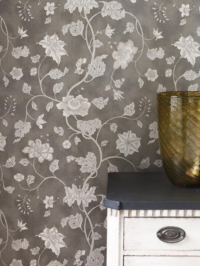 Tapeten Lotus Trail från Colefax online hos Engelska Tapetmagasinet | Blommor | Blommig | Matsal | Göteborg | Klassisk | Romantisk | Romantic | bedroom |