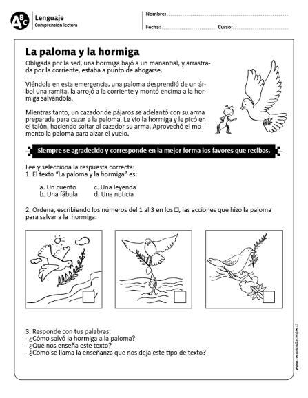 """La paloma y la hormiga"""" data-recalc-dims="""