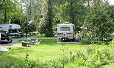 Fort Camping sites for all