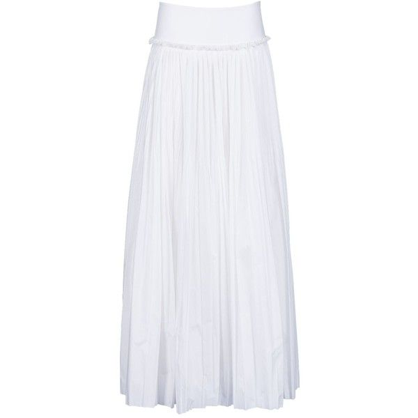 25  best ideas about White pleated skirt on Pinterest | White midi ...
