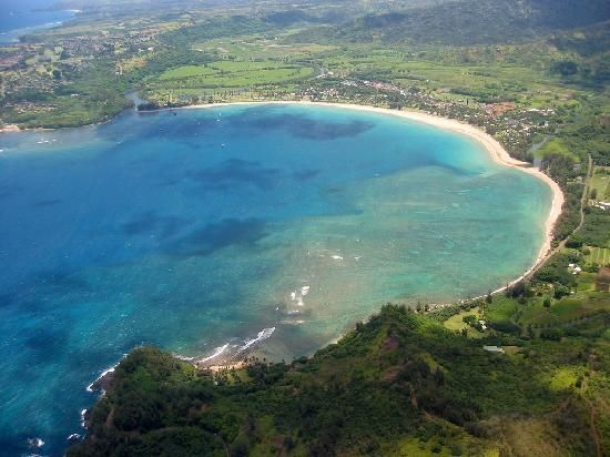 Hanalei Beach ~ Our favorite place