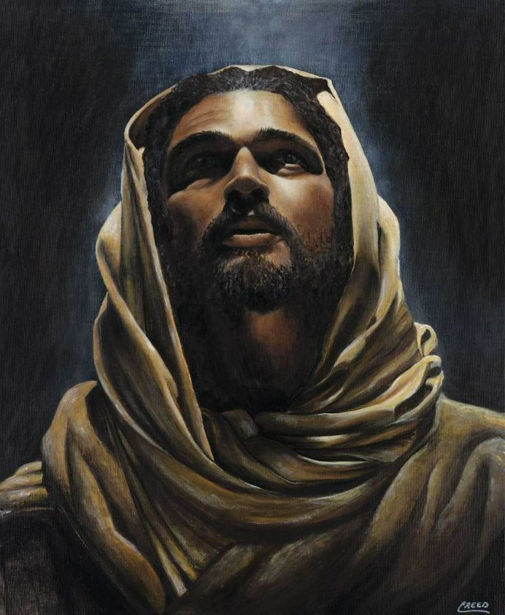 "The Messiah by Cecil ""CREED"" Reed Jr. is a beautiful religious themed work of art inspired by the life of Jesus. The artist told me that it was main biblical scripture that was on his mind during the creation process was John 12:46 that reads:  I am come a light into the world, that whosoever believeth on me should not abide in darkness."