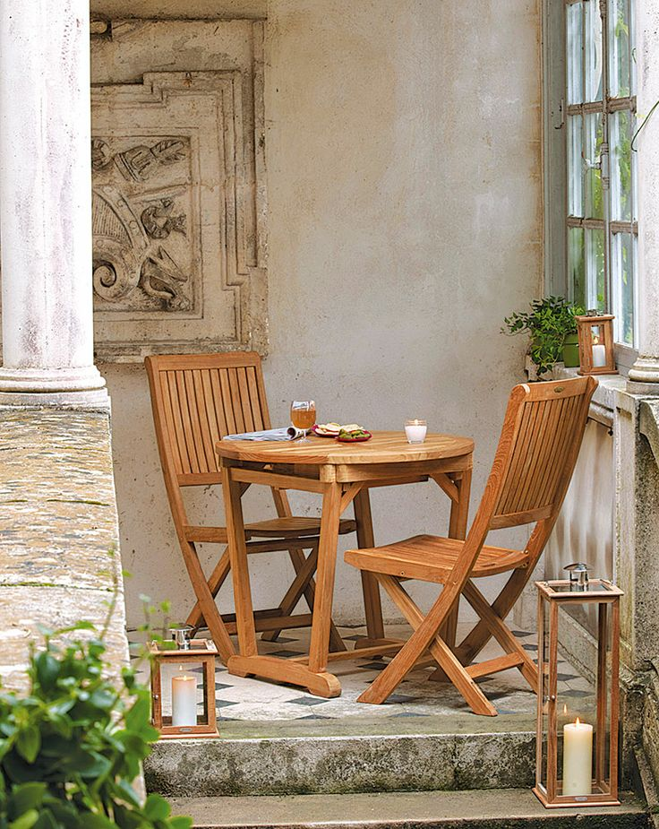 Table harmony small 80x110x80cm tables for Casa chaise pliante