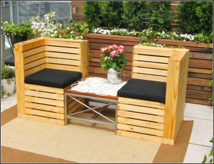 25+ einzigartige paletten liegen ideen auf pinterest   gartenliege, Gartenmöbel