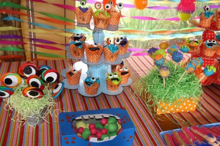 Monsters inc kids party decor