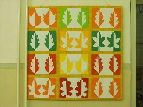őszi levêl mozaik