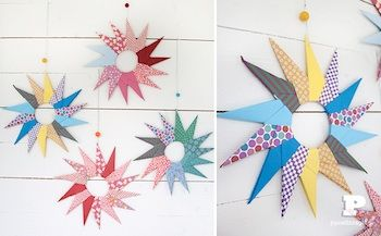Paper Origami Stars - Things to Make and Do, Crafts and Activities for Kids - The Crafty Crow