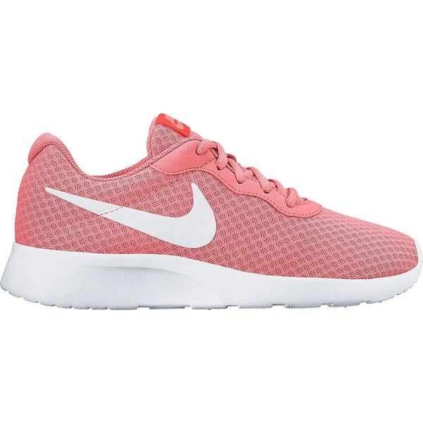 NIKE Women's Tanjun Running Shoe ($54) ❤ liked on Polyvore featuring shoes, athletic shoes, sport running shoes, wide fit shoes, nike shoes, nike athletic shoes and nike