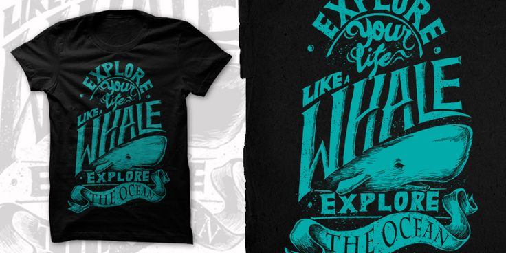 """Explore Your Life"" t-shirt design by Dealtruism"
